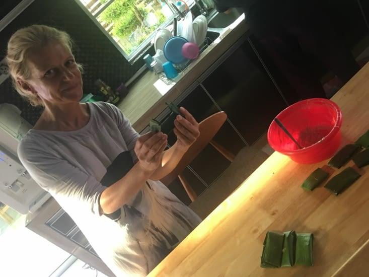 Eva se lance dans la cuisine malaise