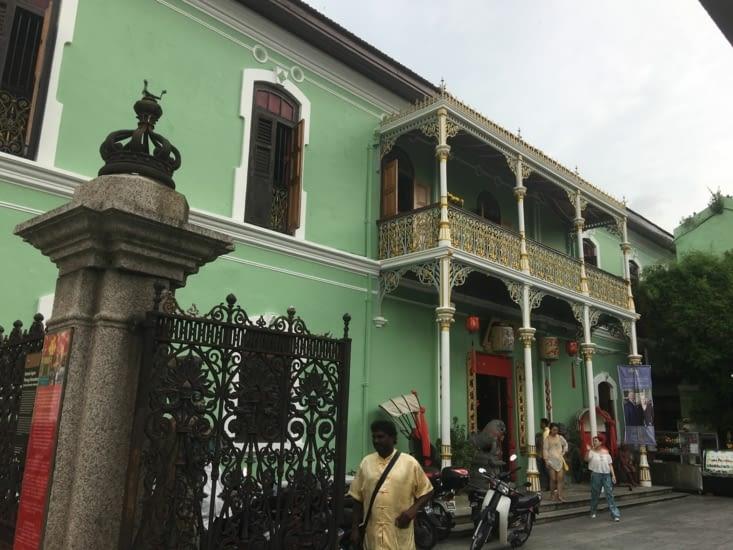 Maison traditionnelle Malaise restaurée pour devenir un musée