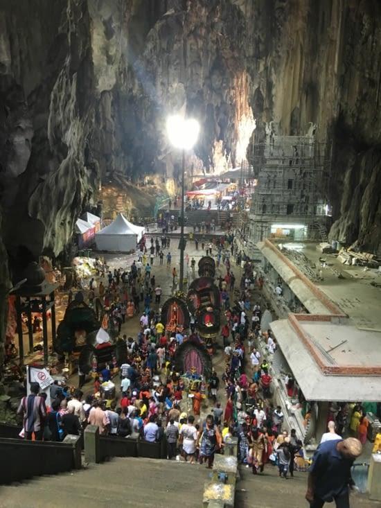 1 million de personne vont atteindre la grotte pendant ces 3 jours !