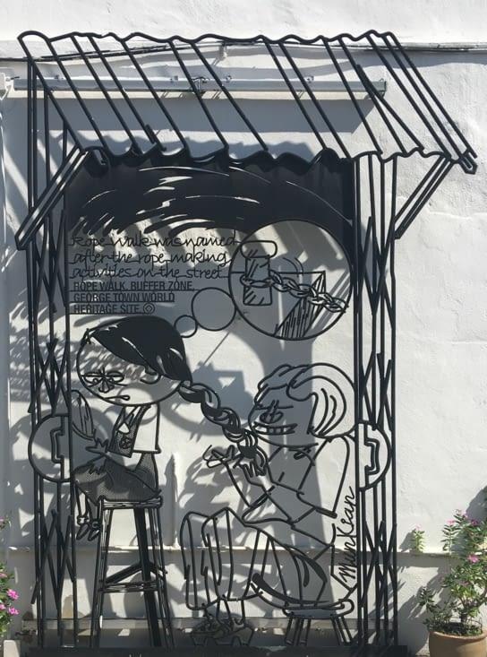 Street Art partout dans la ville (Artistes locaux» sur les murs de la ville