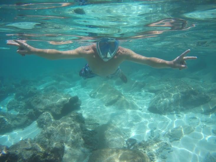 Snorkeling... le plaisir tant attendu !