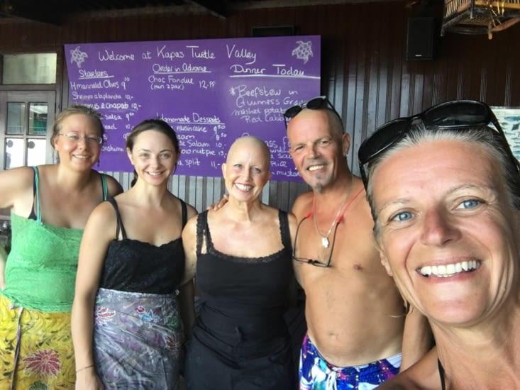On recommande la guest house : Kapas Turtle Valley