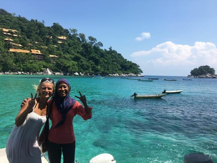 Sortie d'une journée en bateau (seul) vers Coral Island pour du snorkeling !