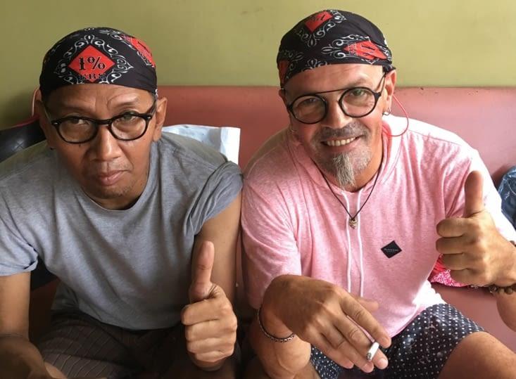Après 1 mois passé à Bali ... nous voilà de retour sur Jakarta !