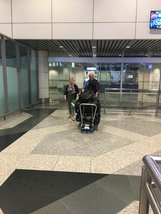 Arrivée des parents à Kuala Lumpur en Malaisie pour 6 semaines avec nous