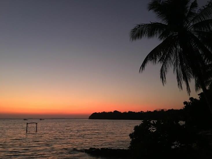 Lever du soleil et retour sur Java