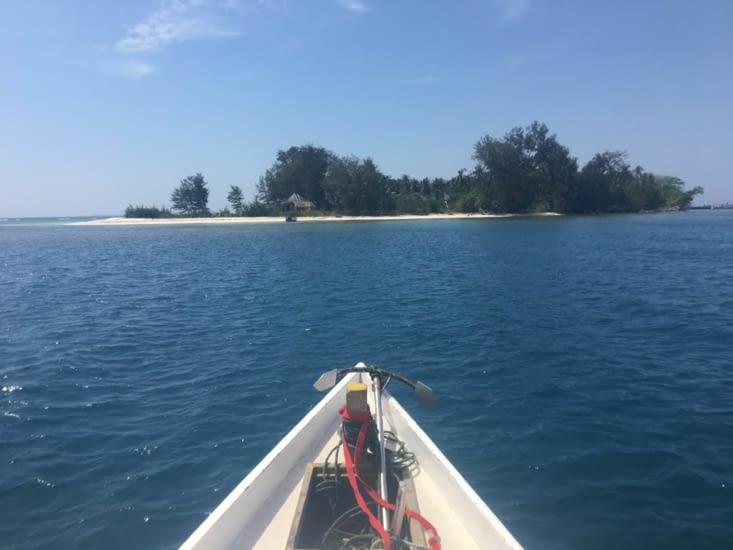 Excursion sur les îles voisines pour faire du Snorkeling