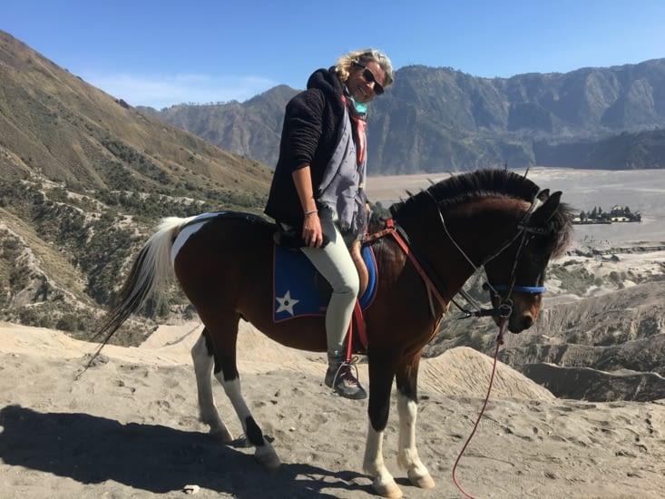 Eva a retrouvé des chevaux... mais de Mongolie