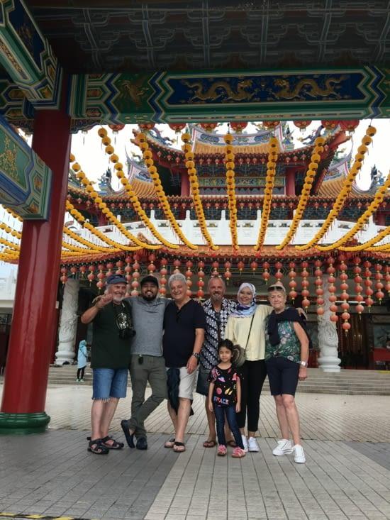 Un des temples Chinois de la ville