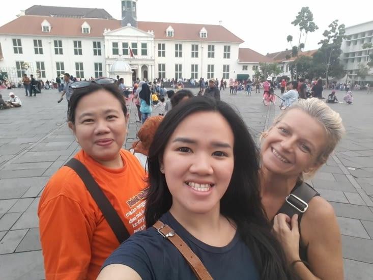 Visite du centre ville de Jakarta (pas grand intérêt)