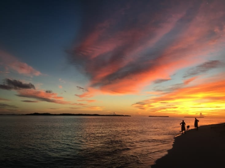 Splendide sur l'ile de Pulau Baniak