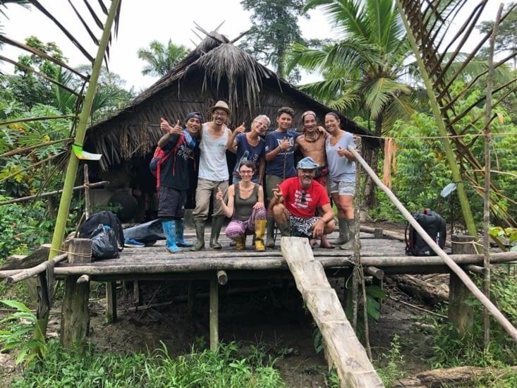 La Huma ... maison traditionnelle Mentawai