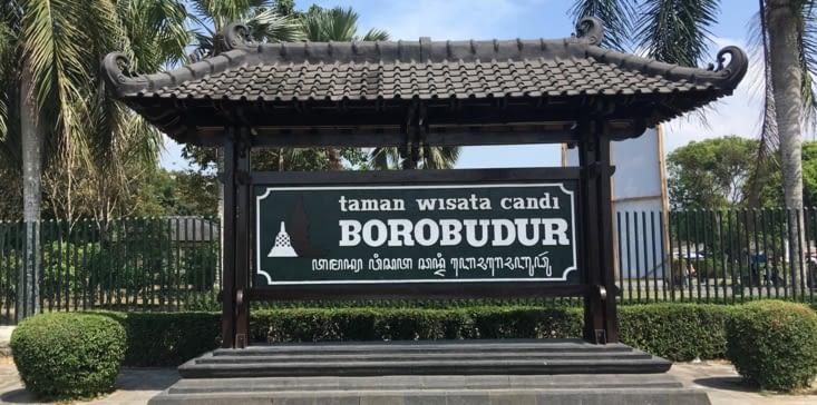 Le temple Bouddhiste de Borobodur