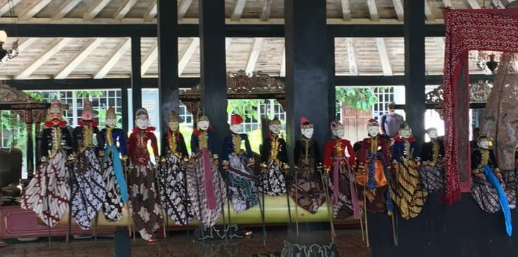 Le théâtre des marionnettes du Sultan