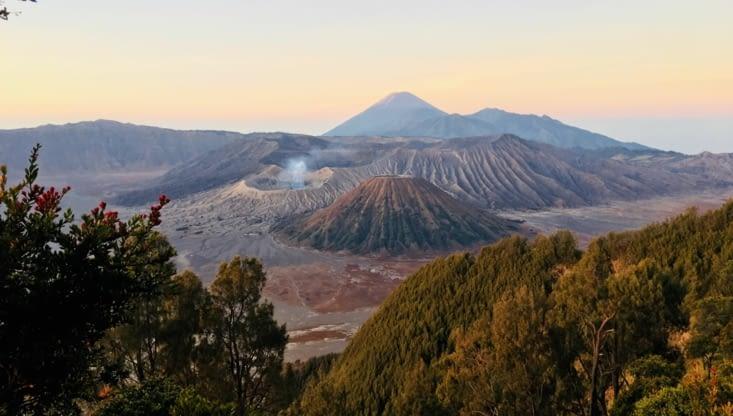 Le Volcan Bromo (Java Est) époustouflant
