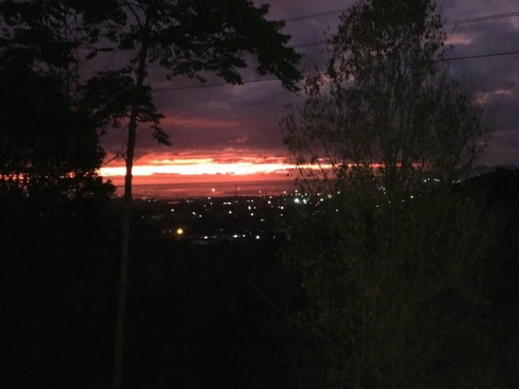 Le ciel ou le feu ?