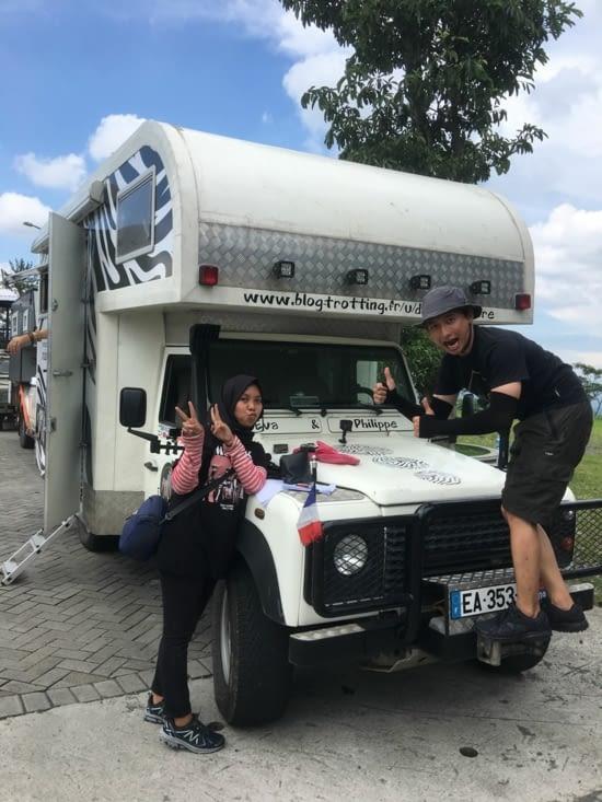 l'installation des Go Pro sur le Camper