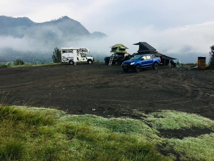 Super Spot en face du Volcan Bromo