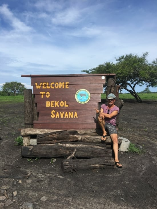 Le parc national Bekol Savana à l'est de Java