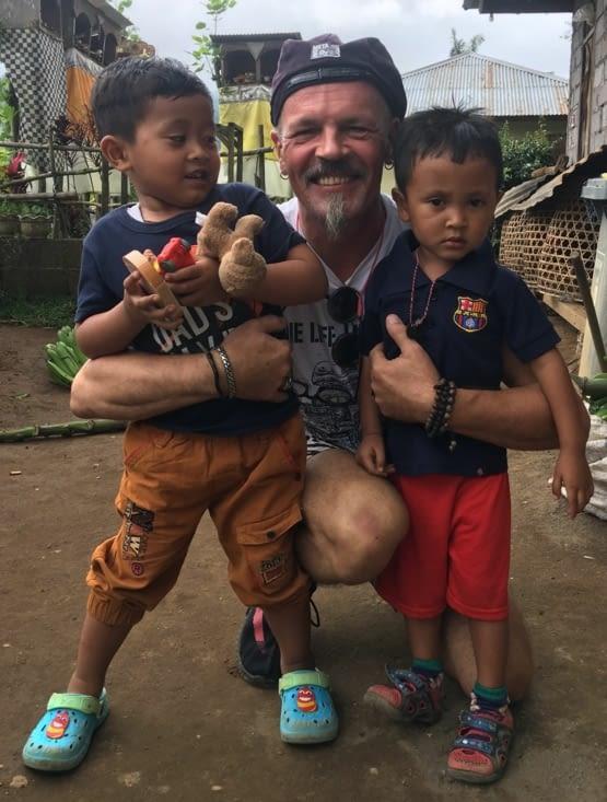 La présence des enfants c'est un bonheur !