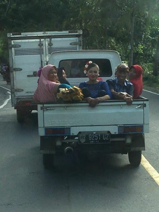Transport de bétail ... ou transport local !