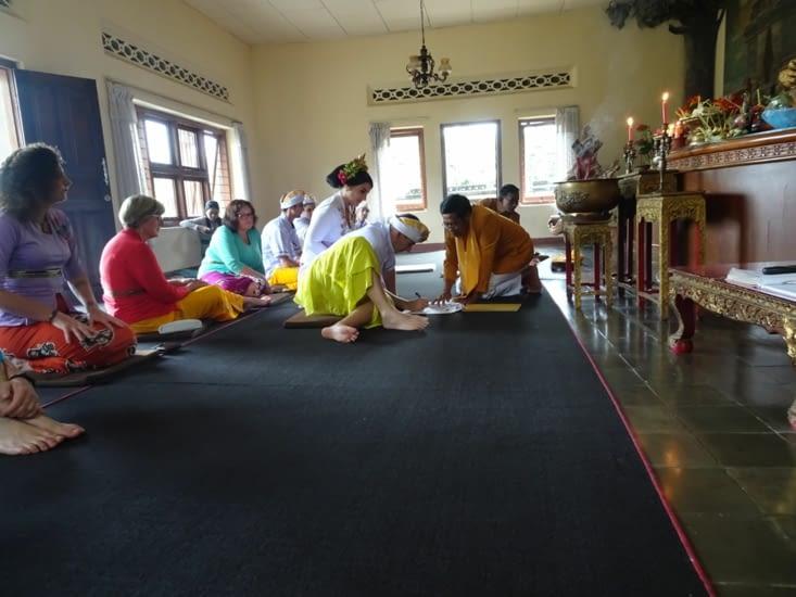 Cérémonie bouddhiste