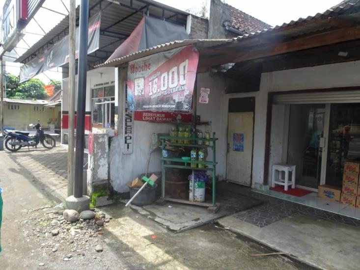 La station essence
