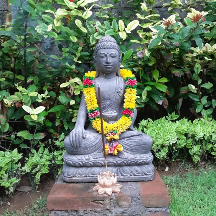 Statue dans notre hébergement