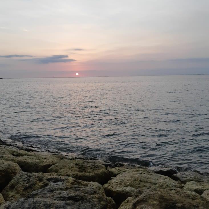 Dernier coucher de soleil balinais