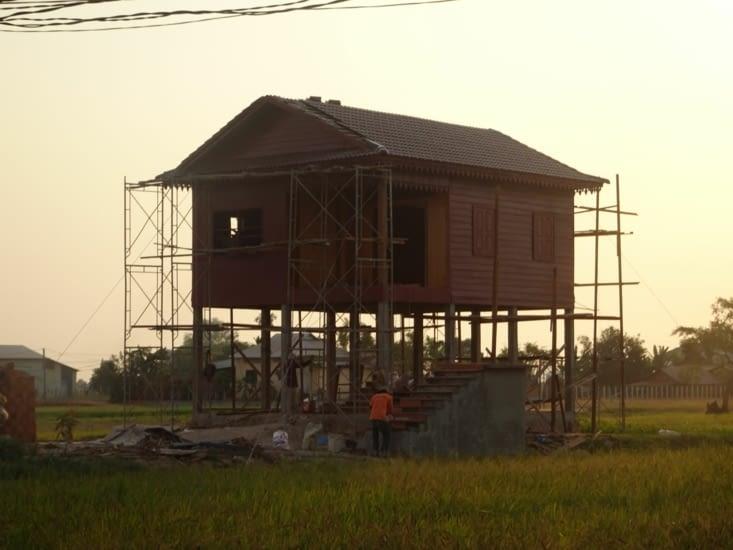 Les maisons sur pilotis