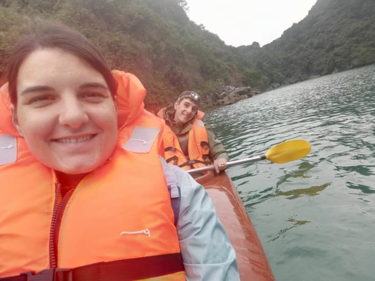 C'est parti pour un tour en kayak !