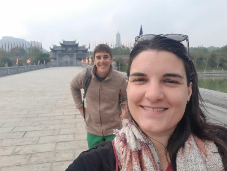 C'est parti pour la visite de la pagode !