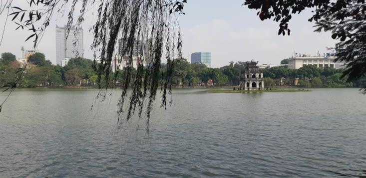 Lac de l'épée, un des plus vieux lacs de la ville