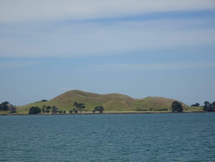 Ile autour d'Auckland