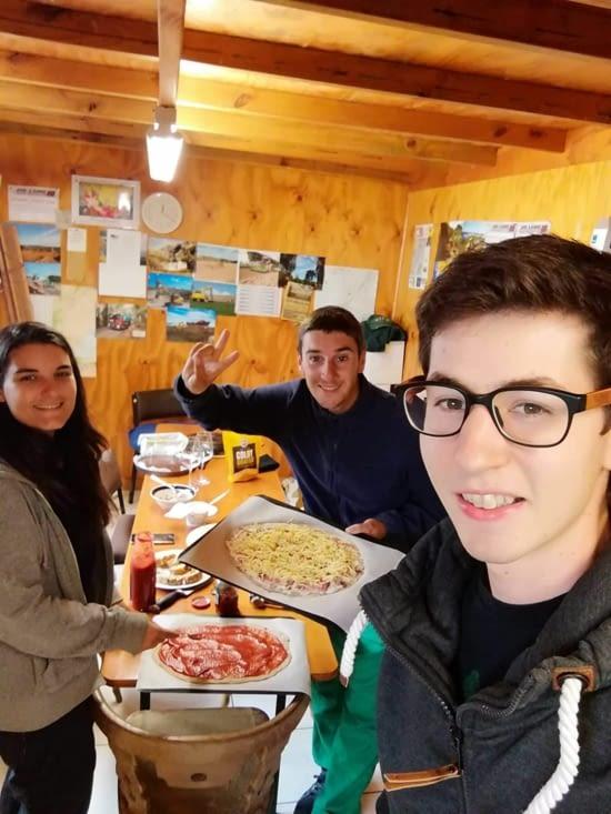Dernier repas avec Dominik l'autrichien !
