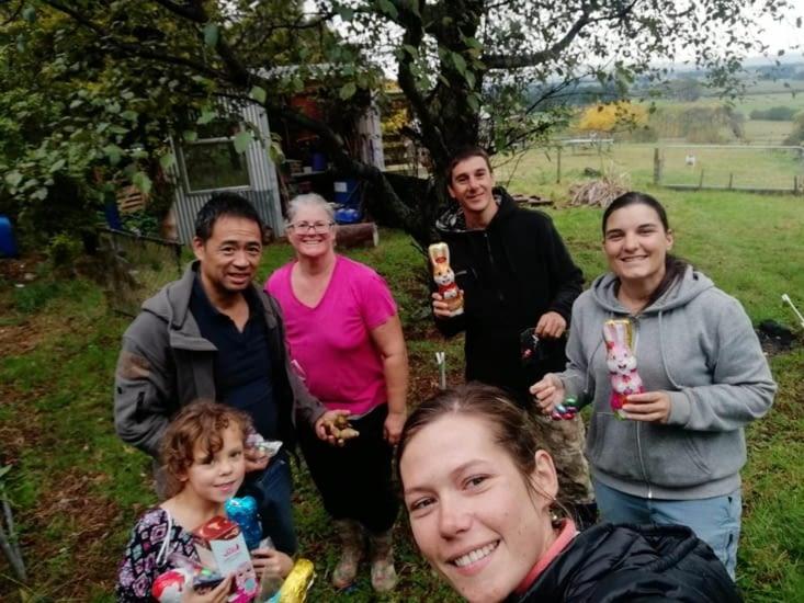 On a fêté Pâques avec la famille 😊