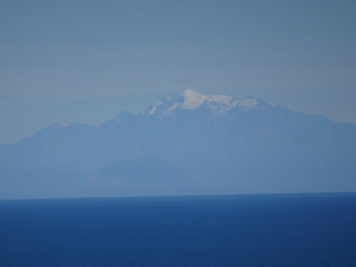 Glacier de l'île du sud