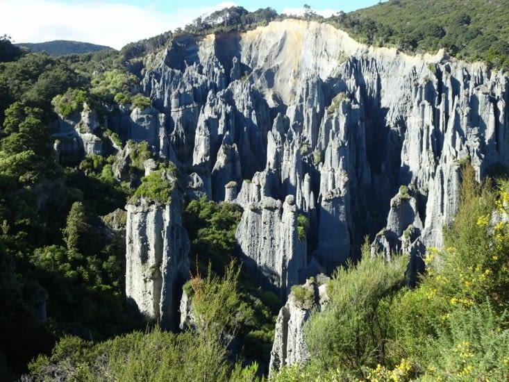 Les pinnacles, un des lieux de tournage du seigneur des anneaux 3