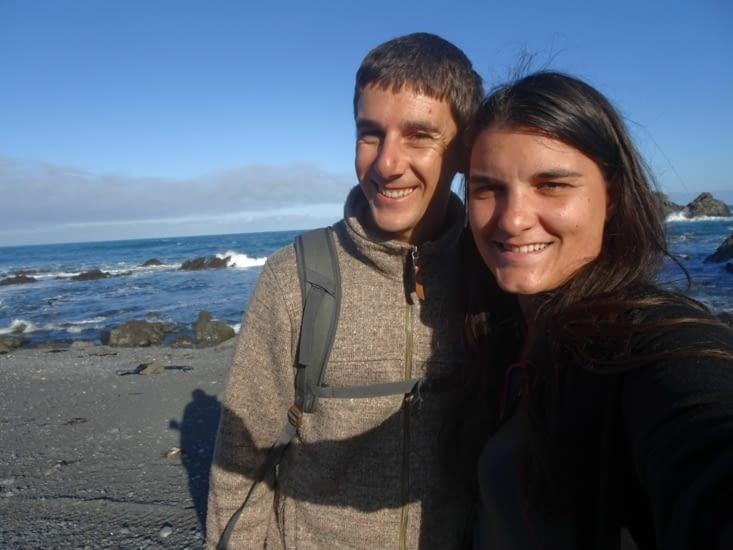 Les amoureux à la plage !