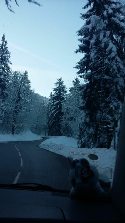 la route est belle mais ....