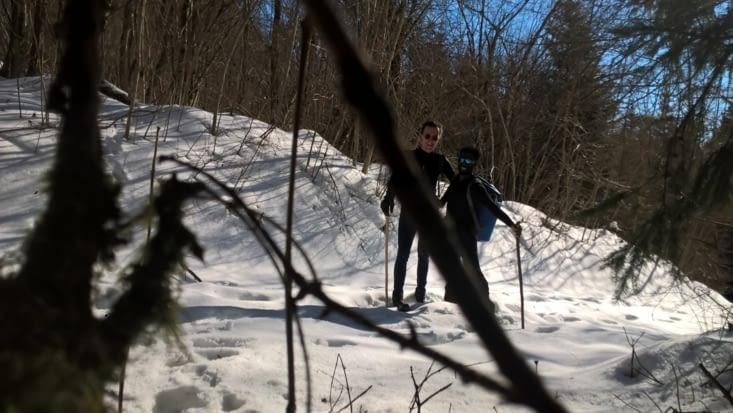 les chasseurs alpins en expédition-camouflage