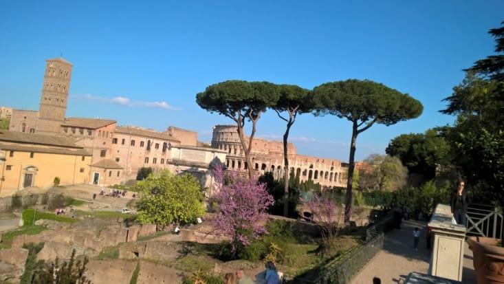 Nous quittons les Cinque Terre pour Roma, arrivée dans un capharnaüm de voitures