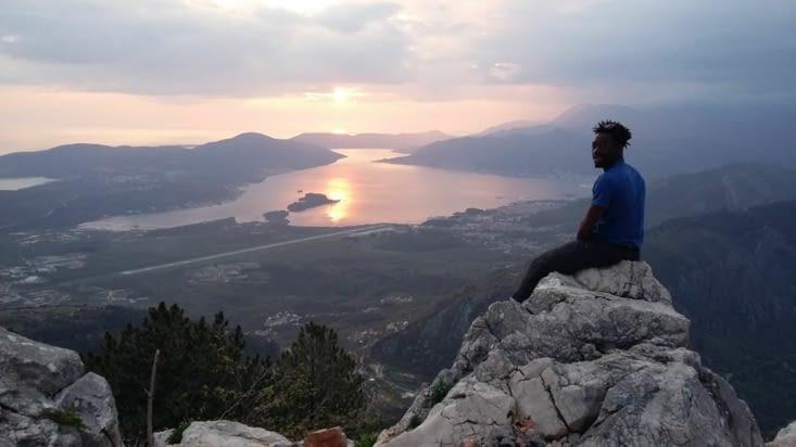 Après Buvda, direction Nivjiv dans les montagnes.... Instant magique....
