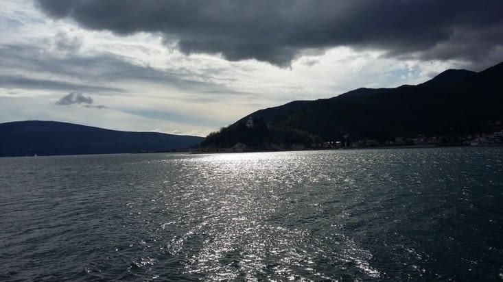La baie de Kotor, après la rando sur Pélétane