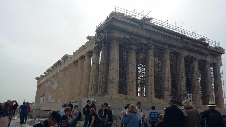 Le temple de la vierge Athéna