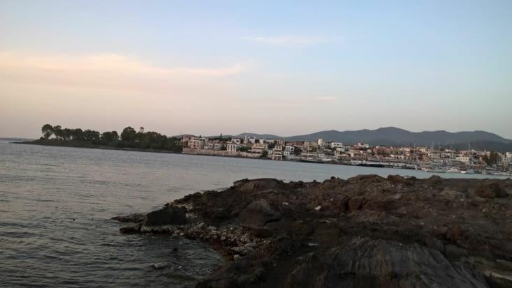 le port de Pedrika à Aegina
