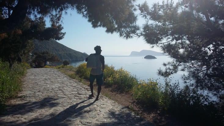 Une chouette ballade sur l'île