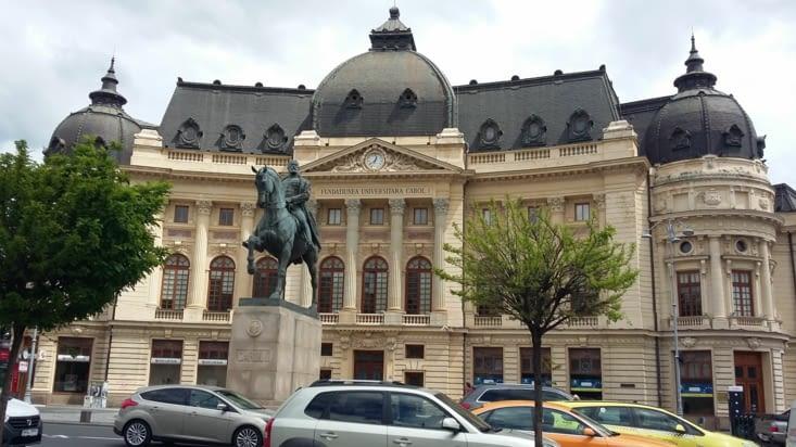 place de la révolution de 1989/  Carol I, souverain de la Roumanie qui a participé à