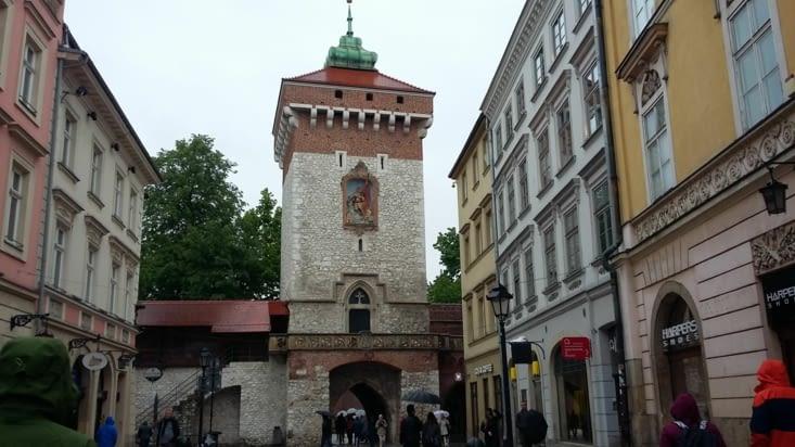 La porte Florianska