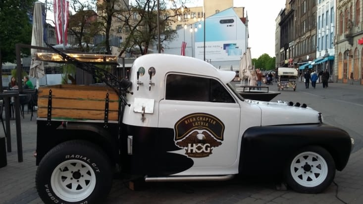 Un tireuse  à bière ou glaçe ?